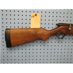 GA... H&R arms model 348 Gamester 12 gauge bolt action stock cracked internal clip missing