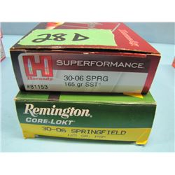 lot of 40 rounds 30 ought 6 ammunition