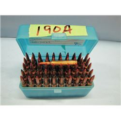 lot a 50 rounds 204 Ruger reload