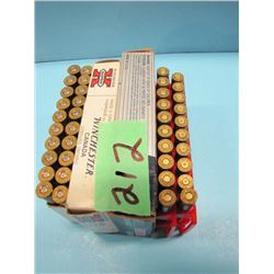 lot of 20 rounds 303 and 11 rounds 30 ought 6 ammunition