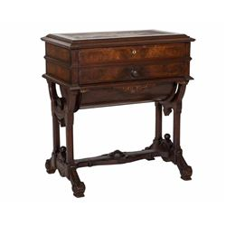 Inlaid Victorian Serving Table