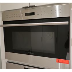 "Wolf MDD24TE/S/TH Microwave Oven (Front panel 23.5""W x 18""H) - Retail $1870"
