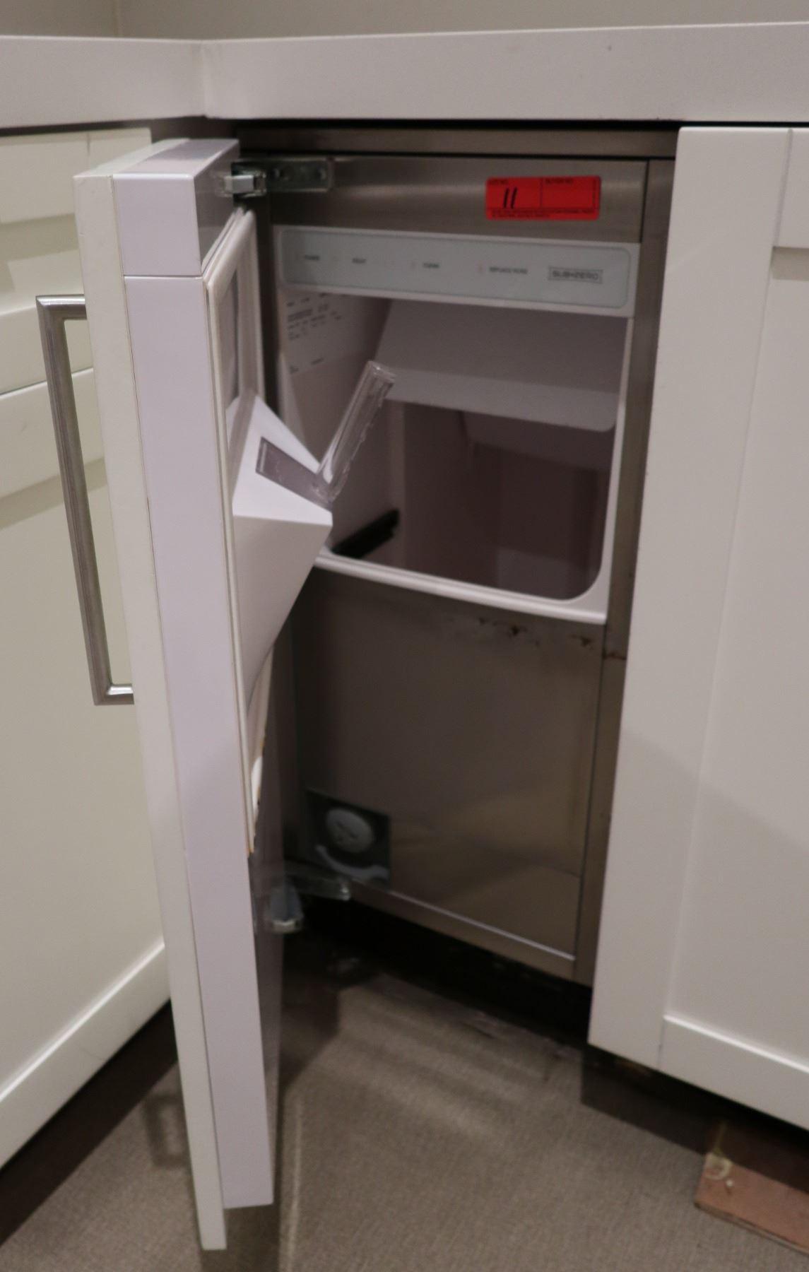 Sub Zero Model Uc 15ip Undercounter Ice Maker Wcabinet Door Retail