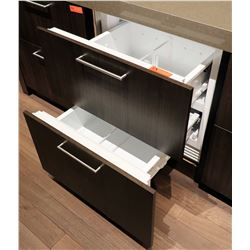 "Sub-Zero 2-Drawer Refrigerated Coolers (Cabinet Width 30""), Model ID-27R Retail $4240"