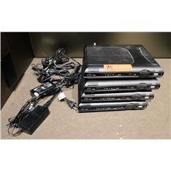 Qty 4 Cisco w/AC Adapters, Model ISB7100