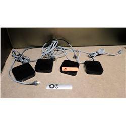 Qty 4 Apple TV Units