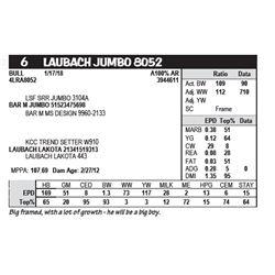 LAUBACH JUMBO 8052