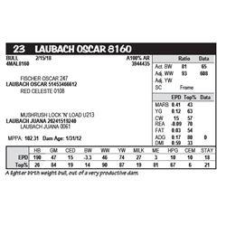 LAUBACH OSCAR 8160