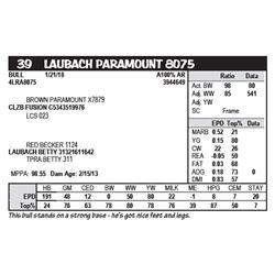 LAUBACH PARAMOUNT 8075