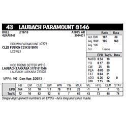 LAUBACH PARAMOUNT 8146
