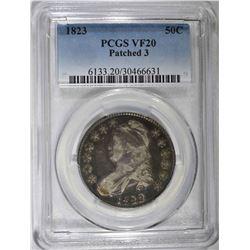 1823 CAPPED BUST HALF DOLLAR PCGS