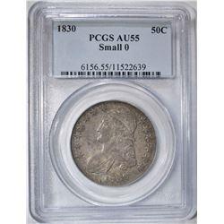 1830 CAPPED BUST HALF DOLLAR PCGS