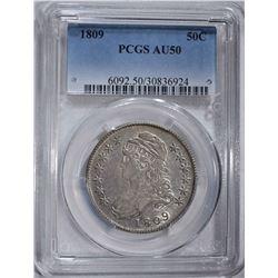 1809 CAPPED BUST HALF DOLLAR PCGS