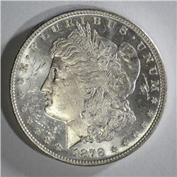 1878 7/8 TF STRONG MORGAN DOLLAR