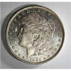 1884-O MORGAN DOLLAR CH BU PROOF LIKE