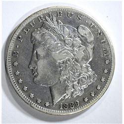 1889-CC MORGAN DOLLAR VF/XF