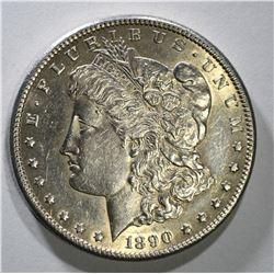 1890-CC MORGAN DOLLAR TAILBAR