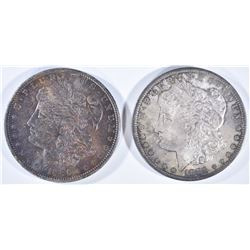 1885-O & 1886 MORGAN DOLLARS  CH BU