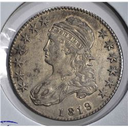1819 CAPPED BUST HALF DOLLAR O-111