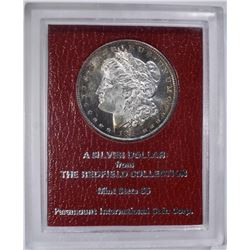 1891-S MORGAN DOLLAR  REDFIELD COLLECTION
