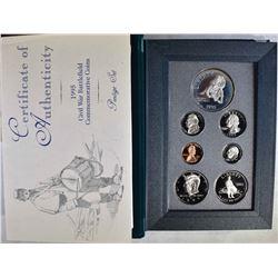 1995 U.S. PRESTIGE SET IN ORIG BOX/COA