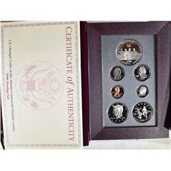 1996 U.S. PRESTIGE SET ORIG BOX/COA