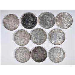 10-PRE 1921 AVE CIRC MORGAN DOLLARS