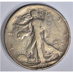 1921 WALKING LIBERTY HALF DOLLAR  FINE