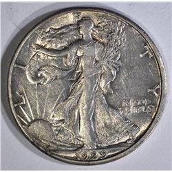 1929-D WALKING LIBERTY HALF DOLLAR