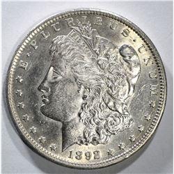 1892-CC MORGAN DOLLAR CH BU