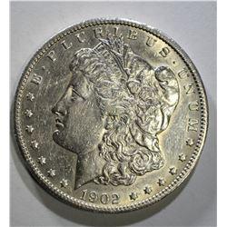 1902-S MORGAN DOLLAR AU