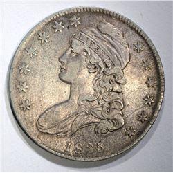 1835 BUST HALF DOLLAR O-110, XF