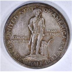 1925 LEXINGTON-CONCORD HALF SILVER
