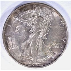1937-D WALKING LIBERTY HALF DOLLAR, CH BU