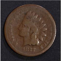 1877 INDIAN HEAD CENT  GOOD