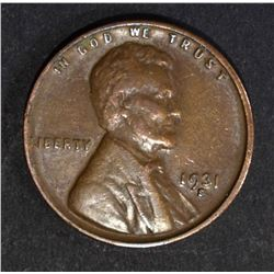 1931-S LINCOLN CENT  XF-AU