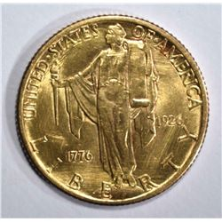 1926 SESQUI COMMEMORATIVE GOLD $2.50  CH BU