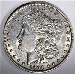 1901 MORGAN DOLLAR, AU