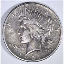1921 PEACE DOLLAR XF+