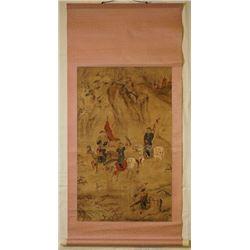 "Chinese Ink Painting - ""Yin Shan Da Lie Tu"""