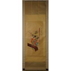 """Chinese Ink Painting - """"Gui Fei Zui Jiu""""."""