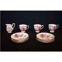 ROYAL ALBERT England Bone China 12 tea sets.