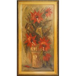 An Oil Painting with Frame by Leo Ritter.