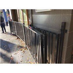 METAL MOBILE PATIO FENCING