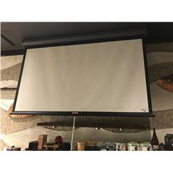 8 FT HANGING PROJECTION SCREEN WITH PANASONIC LCD PROJECTOR