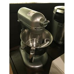 KITCHENAID STAND MIXER WITH BOWL & ICE CREAM ATTACHMENT