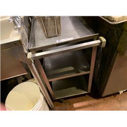2 - STAINLESS STEEL BUS CARTS