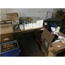 LARGE LOT OF ASSORTED BARWARE
