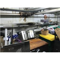 LARGE STAINLESS STEEL FISH PROCESSING STATION