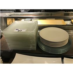 ASSORTED SERVING PLATES